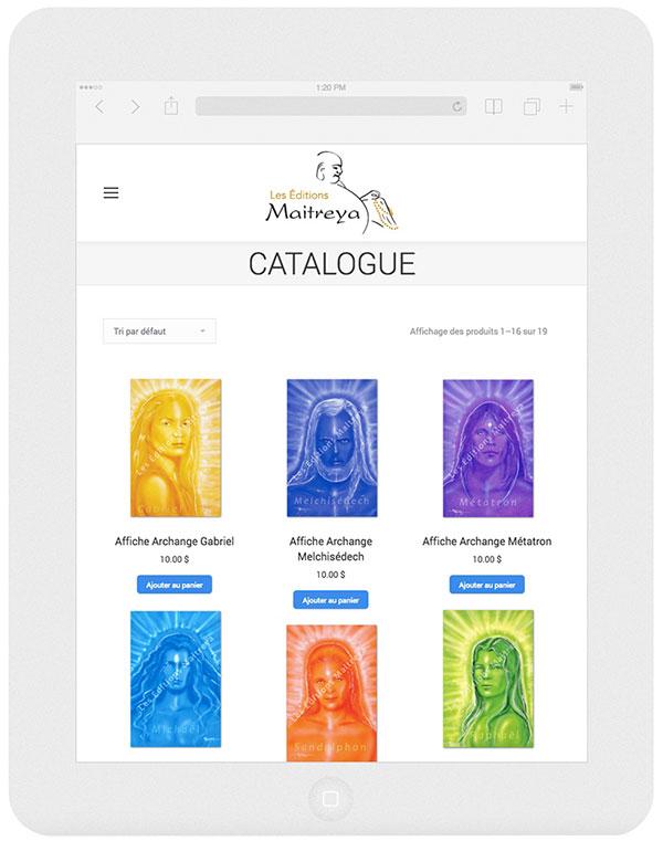 Editions Maitreya catalogue