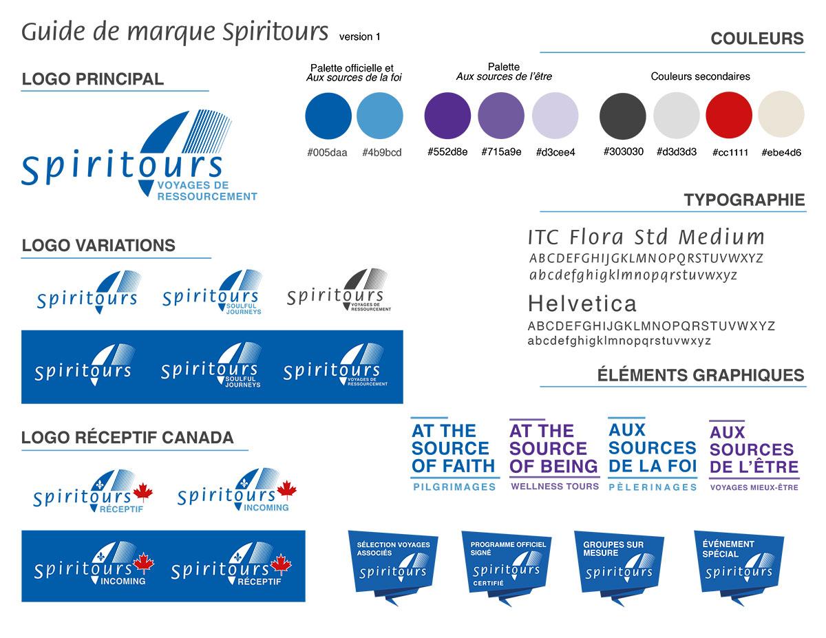 Guide de marque Spiritours